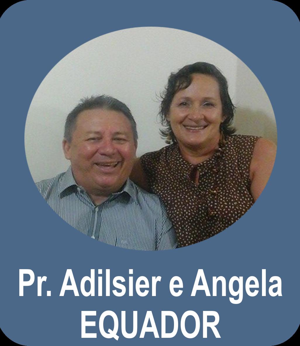 Missº. Adilsier José dos Santos Costa e Miss. Angela Regina da Costa - EQUADOR - Playas
