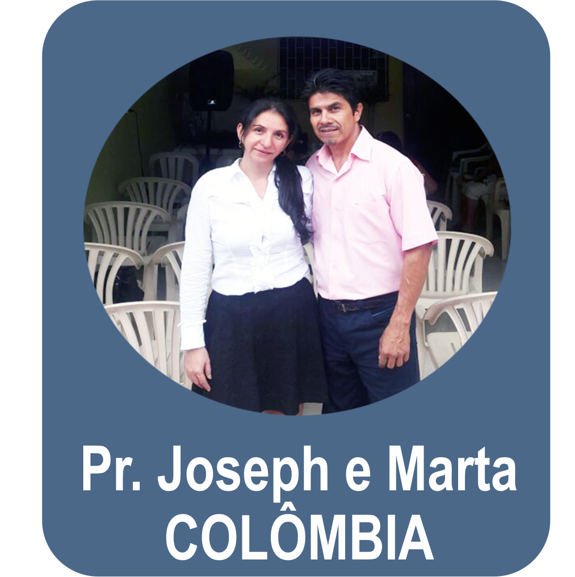 Missº. Joseph Heridia e Miss. Marta Yanet Saravia - COLÔMBIA - Ibaqué