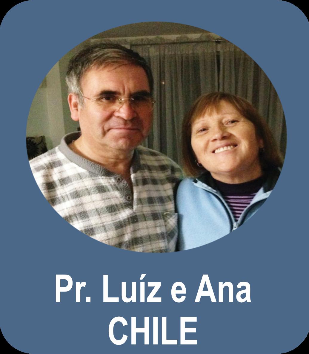 Missº. Luíz Alberto Morales Jara e Miss. Ana Nayade S. Gutierrez - CHILE - Santiago