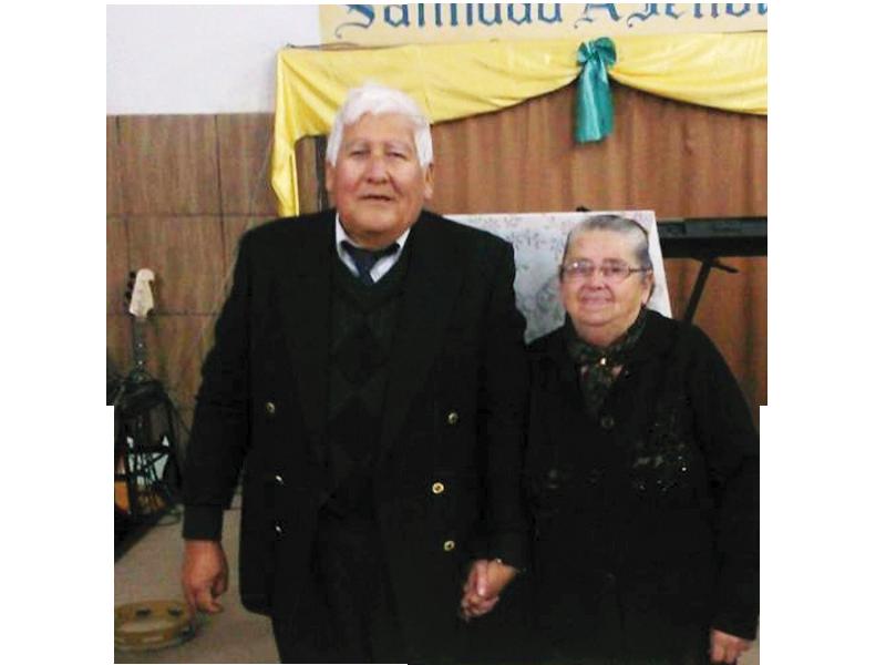 Missº. Jorge Omar Sena e Miss. Maria Orfila Edrnera - URUGUAI - Artigas