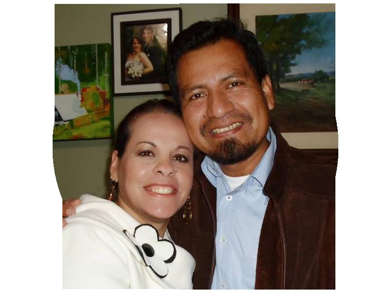 Miss. Elaine de Castro Caro e Missº. Eli Caro Huayllahua - PERÚ - Iquitos