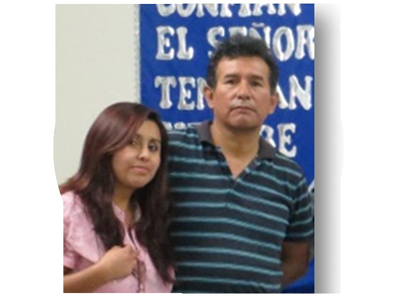 Missº. Rafael Enrique Ochoa Castro e Miss. Silvia Francisca Huaman Palomino - PERU - Arequipa