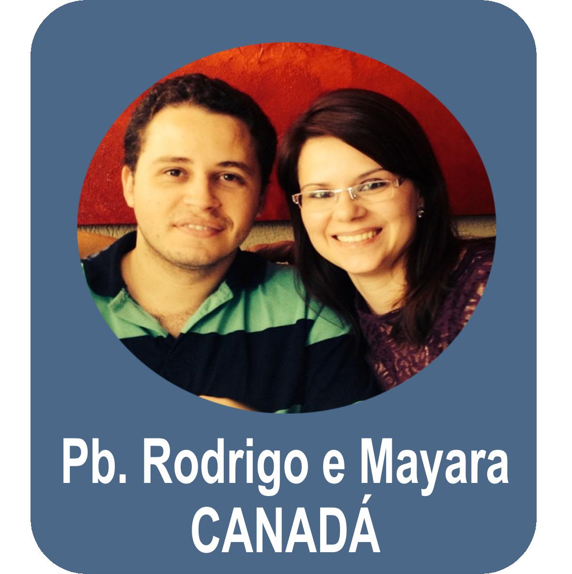 Missº. Rodrigo Monteiro de Oliveira e Miss. Mayara de Conti - Canadá