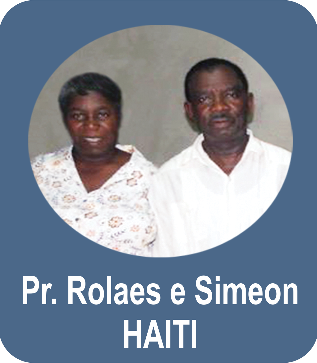 Pr. Rolaes e Miss. Simeon Etiênne - HAITI - Jean-Rabel
