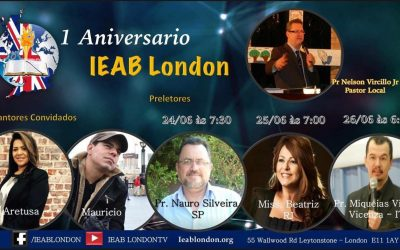 Primeiro Aniversário IEAB London