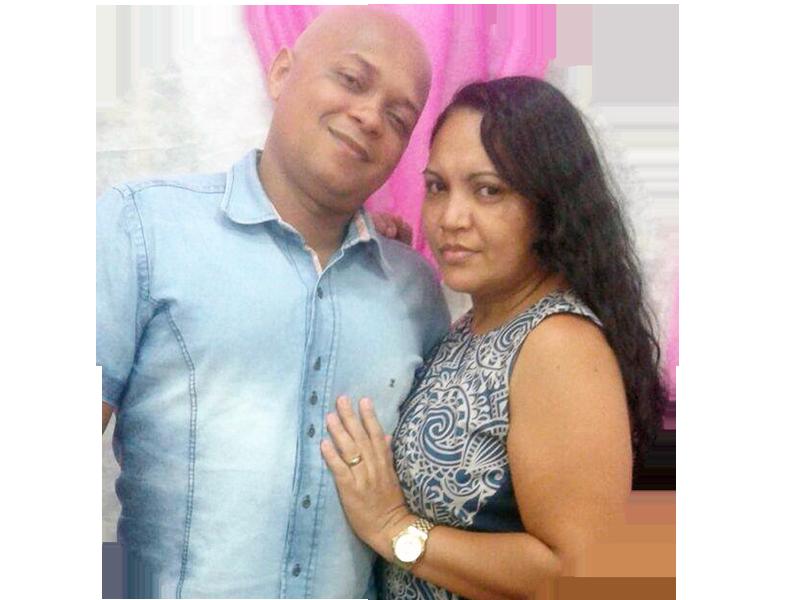 Pb. Edson Franscisco Rodrigues Neri e Miss. Meire