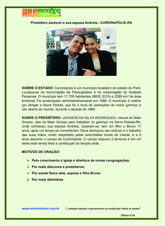 Informe de Curionópolis
