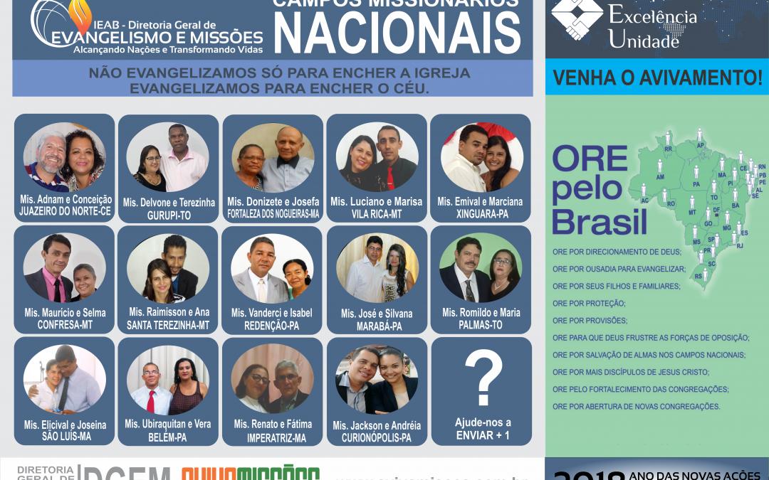 CARTAZES DE ORAÇÃO 2018