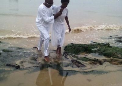 Batismo em Angola