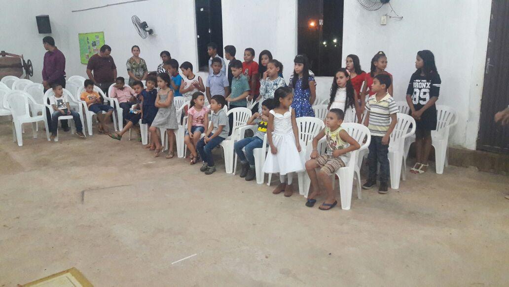 IEAB Vila Rica/MT trabalhando com as Crianças