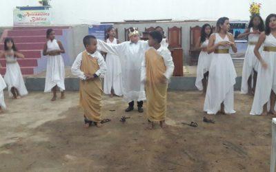 O Campo Missionário em Vila Rica-MT prossegue incessantemente.
