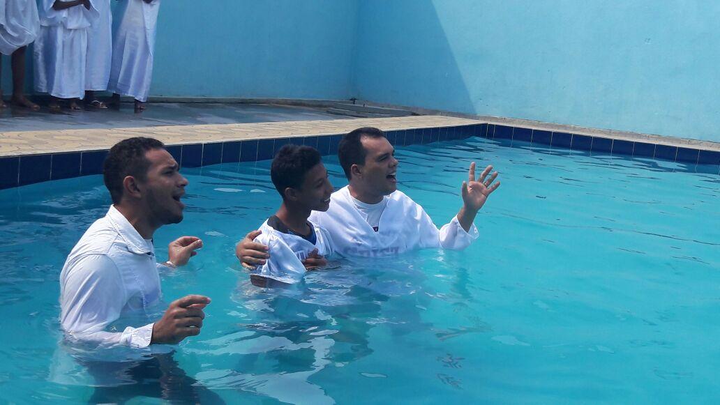Campo Missionário em Curionópolis Batizando Vidas!