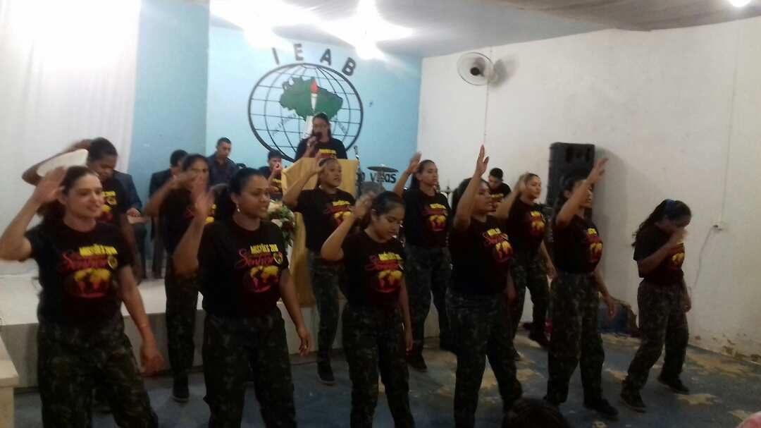 Culto de Missões no Campo Missionário em Curionópolis-PA