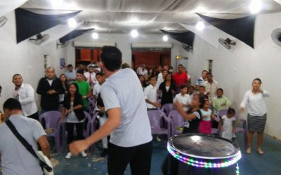 Culto do Black White em Curionópolis-PA