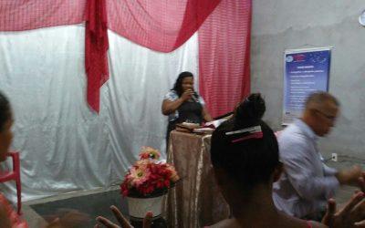 Culto Abençoado e Homenagem as mães em Benevides-PA
