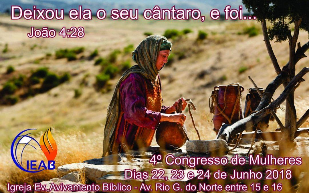 4º Congresso de Mulheres no Campo Missionário em Gurupi-TO
