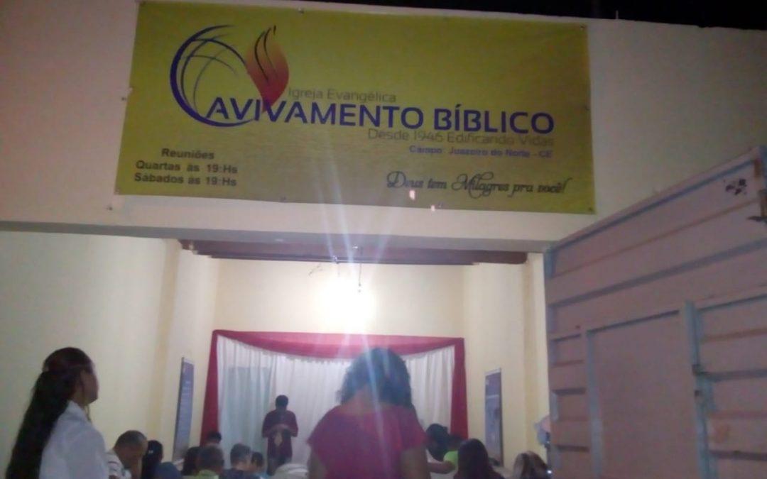 CAMPO MISSIONÁRIO EM JUAZEIRO DO NORTE/CE EM EXPANSÃO!