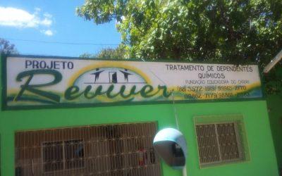 BATISMO EM CASA DE RECUPERAÇÃO NO CAMPO MISSIONÁRIO EM JUAZEIRO DO NORTE/CE