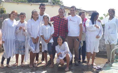 BATISMO EM RIVERA-URUGUAI