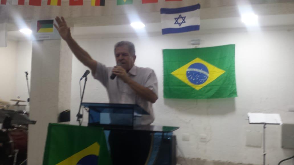 CAMPO EM INDAIATUBA DIVULGANDO E ORANDO PELA OBRA MISSIONÁRIA