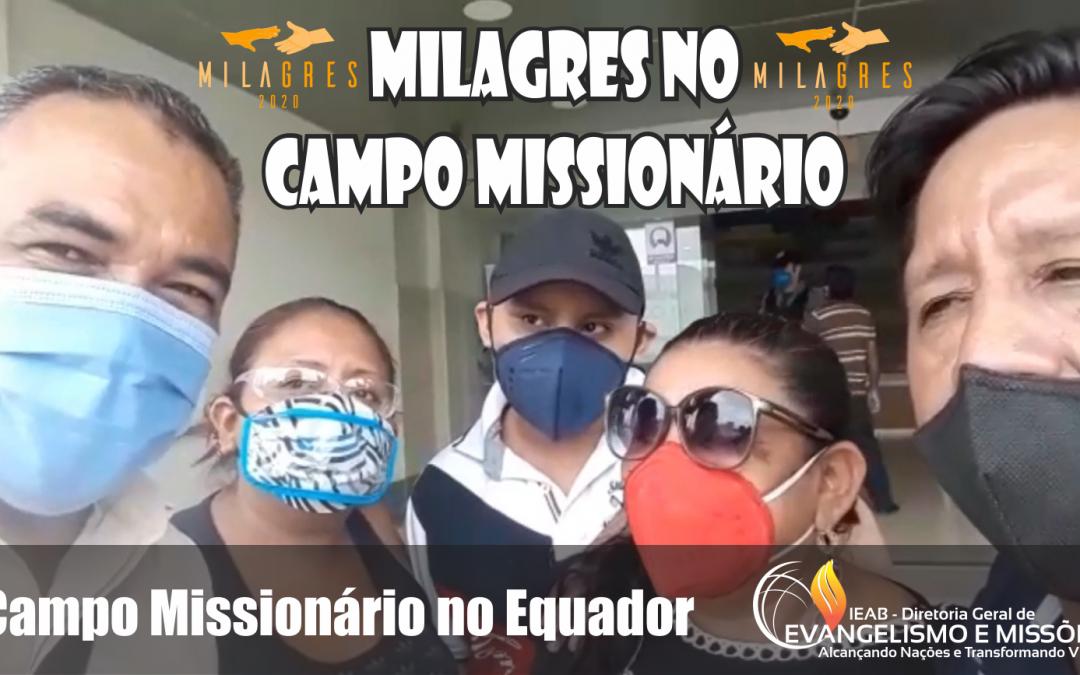 TESTEMUNHO DE MILAGRE NO EQUADOR