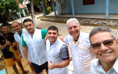 BATISMO EM CASA DE RECUPERAÇÃO EM JUAZEIRO DO NORTE/CE.