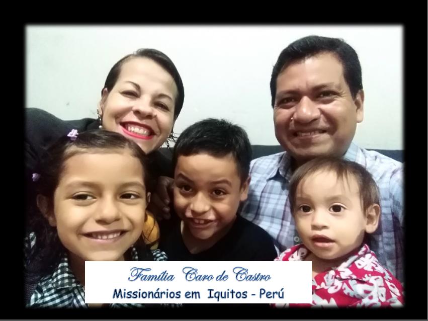 NOTICIAS DO NOSSO CAMPO MISSIONÁRIO NO PERÚ!